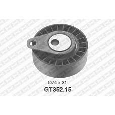 SNR GT352.15 (1079173 / 1215978 / 2T1Q6K254AA) ролик натяжной ремня грм Ford (Форд) Fiesta (Фиеста) / focus