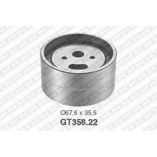 SNR GT358.22 (95495830 / 081817 / 081822) ролик натяжной ремня грм\ Peugeot (Пежо) j5, Fiat (Фиат) Ducato (Дукато) 2.5d / td 81>