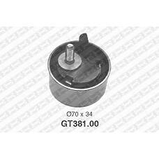 SNR GT381.00 (13069AA034 / 13069AA037 / 13069AA036) ролик натяжной ремня грм\ Subaru (Субару) impresa / legasy 1.6-2.2 90>