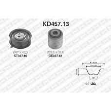 SNR KD457.13 (028109243F / 028198119C / 1L0198002A) рем.к-кт грм\ Audi (Ауди) 80 / a4 / a6, Seat (Сеат) ibiza, VW Golf (Гольф) / Passat (Пассат) 1.9td / tdi 91>