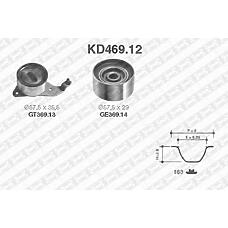 SNR KD469.12 (1350363011 / 1350574011) рем.к-кт грм\ Toyota (Тойота) Camry (Камри) / Carina (Карина) e 2.0 / 2.2 86-97
