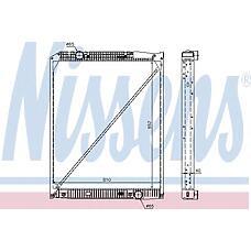 NISSENS 62649A (9425003203 / 9425001703 / 9425001103) радиатор двигателя