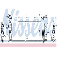 NISSENS 63029A (1300269 / 13143570 / 13128925) радиатор двигателя