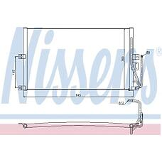 NISSENS 94653 (1850065 / 52485274 / 1618114) радиатор кондиционера