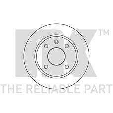 NK 202513 (5022658 / 5024744 / 6137291) диск тормозной