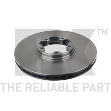 NK 202544 (4041428 / 1387781 / 95VX1125BA) диск тормозной