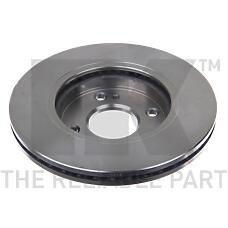 NK 202580 (1546835 / 1523795 / 1535924) диск тормозной передний\ Mazda (Мазда) 2 07>, Ford (Форд) Fiesta (Фиеста) 1.3 / 1.5 / 1.4 / tdci / 1.6tdci 08>