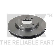 NK 203052 (MR510742 / MR510741 / MR510741MR510742) диск тормозной Mitsubishi (Мицубиси) galant vi 96>04 / Lancer (Лансер) 03> передний вент. (цена за 1 шт., к-кт 2 шт.)