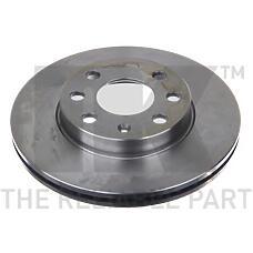NK 203640 (569021 / 9195985 / 203640_NK) диск тормозной передний\ Opel (Опель) Corsa (Корса) 1.0 / 1.2 / 1.7d 00>