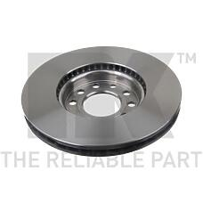 NK 203645 (93171497 / 569003 / 9156807) диск тормозной