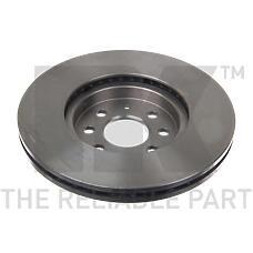 NK 203652 (569006 / 93175376 / 0569006) диск тормозной Opel (Опель) Astra (Астра) 04-10 / Meriva (Мерива) 03-10 передний (цена за 1 шт., к-кт 2 шт.)