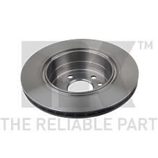NK 203657 (569100 / 9195052 / 569120) диск тормозной задний\ Opel (Опель) Omega (Омега), auxhall Omega (Омега) 2.2-3.2 / 2.2dti / 2.5td / dti 94>