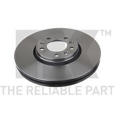 NK 203734 (424924 / 9467548587 / 424925) диск тормозной передний\ Citroen (Ситроен) jumpy, Peugeot (Пежо) experti, Fiat (Фиат) Scudo (Скудо) 1.6hdi / 2.0d / hdi 07>