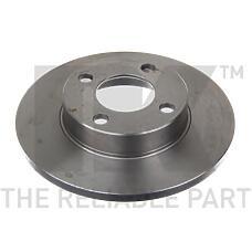 NK 204718 (443615301 / 431615301 / 204718_NK) диск тормозной передний\ Audi (Ауди) 80 / 90 / 100 1.6-2.0d 86-91
