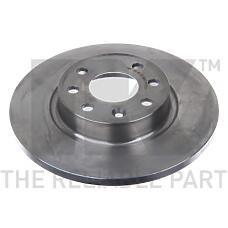 NK 204823 (34102947 / 34596619 / 3410294) диск тормозной передний\ Volvo (Вольво) 440 / 460 / 480 1.6-2.0 / 1.9td 86>