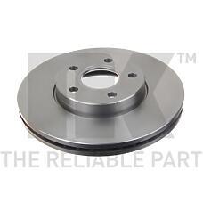 NK 204848 (1320352 / 1223663 / 1373369) диски тормозные передние комплект Ford (Форд) Focus (Фокус) II , III / Mazda (Мазда) 3 / Volvo (Вольво) s40 II .