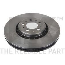 NK 204853 (30657301 / 306573013 / 31262489) диск тормозной передний\ Volvo (Вольво) xc 90 2.5t / d5 / t6 wheel 17'' 02>