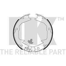 NK 2730674 (MR391631 / MN102635 / MB950211) колодки барабанные стояночного тормоза
