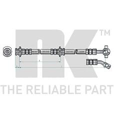 NK 852255 (4621051E10 / 4621030R00 / 4621030R10) шланг тормозной