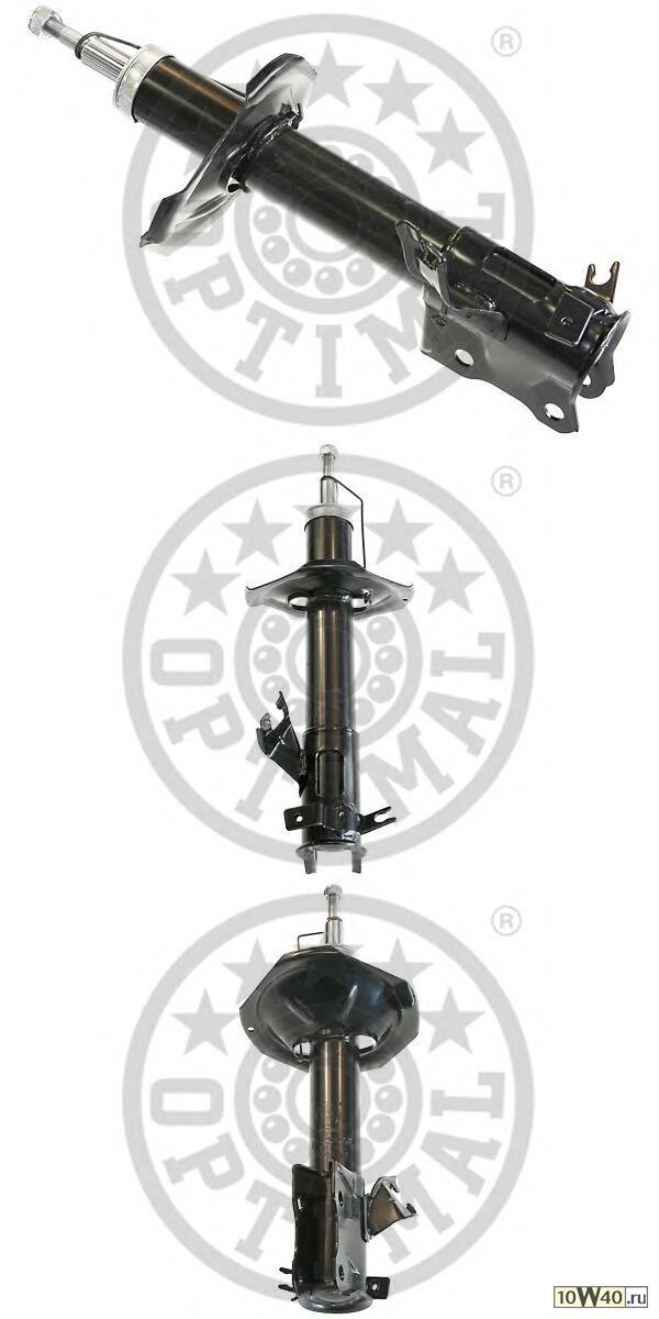амортизатор | перед прав | nissan almera II (n16), almera II hatchback (n16) 2000 / 01-2003 / 02