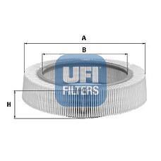 UFI 30.896.00 (0020943104 / 0020943004 / 0020945804) фильтр воздушный \ mb w123 / w124 / w201 2.0-2.3 80-88