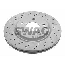 SWAG 10922996 (1684210712) диск тормозной fr mb a(w168)