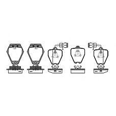 ROADHOUSE 250802 (4D0698151S / 4D0698151M / 4D0698151A) колодки торм.дисковые