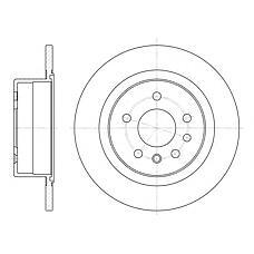ROADHOUSE 648800 (569208 / 90444513 / 569121) диск тормозной