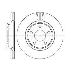 ROADHOUSE 654810 (8E0615301B / 8E0615301D / 8E0615301P) диск тормозной Audi (Ауди) a4 (95-01)