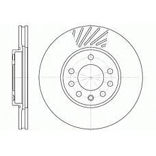 ROAD HOUSE 6584.10 (569060 / 9117678 / 90539466) диск тормозной