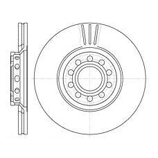 ROADHOUSE 659610 (4B0615301A / 8D0615301J / 8E0615301R) диск тормозной