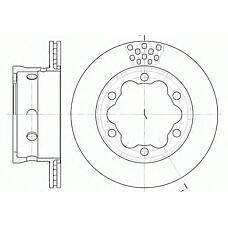 ROADHOUSE 6623.10 (9044230312 / 9044230212 / 2D0615601B) диск тормозной