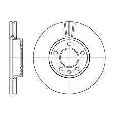 ROADHOUSE 670810 (7H0615301D / 230773) диск тормозной