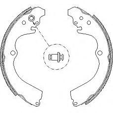 REMSA 466300 (26257AA030 / 26257AA050 / 26257AA040) комплект тормозных колодок