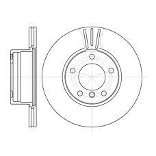 REMSA 6514.10 (34111164839 / 34111163013 / 34116767061) диск тормозной передний\ BMW (БМВ) e39 2.0-3.5 m47-m62 95>