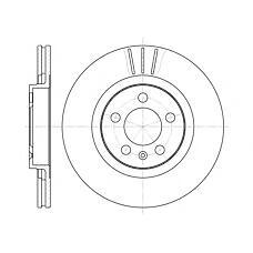 REMSA 6546.10 (1J0615301E / 1J0615301M / 1J0615301P) диск тормозной передний\ Audi (Ауди) a3, VW Golf (Гольф) 1.8 / 1.9tdi 96>