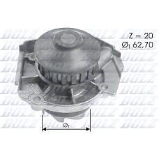 DOLZ S-361 (46423351 / 5973713 / 7640163) помпа\ Fiat (Фиат) Punto (Пунто) 1.1 / 1.2 92>