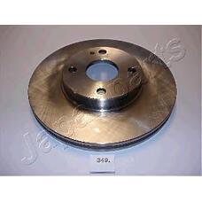 JAPANPARTS di349 (BB7E3325XA / BR743325X / BW8Y33251) диск тормозной передний Mazda (Мазда) 323 mx3 257mm