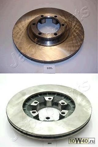диск тормозной передний mitsubishi l200 l300 pajero