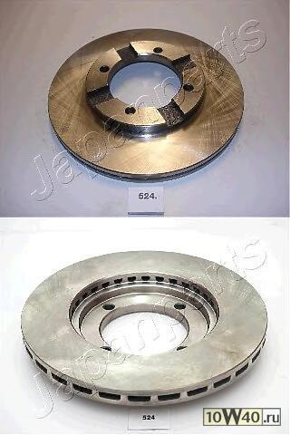диск тормозной передний mitsubishi colt lancer