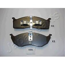 JAPANPARTS pa099af (4882107 / 4773264 / 4762682) колодки передние дисковые Chrysler (Крайслер) Voyager (Вояджер) 95-