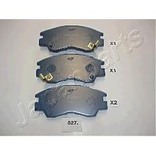 JAPANPARTS pa527af (MB500813 / MB500816 / MB500819) колодки пер.диск.Mitsubishi (Мицубиси) l200 k12 / 14 / 22 l300 Pajero (Паджеро) 87->