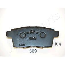 JAPANPARTS pp309af (L2Y72643Z / EHY42643Z / L2Y62643Z) колодки торм. диск. Mazda (Мазда) cx-7 09 / 07-