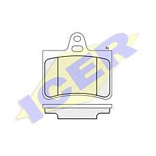 ICER 181407 (425217 / 425290 / 425334) колодки дисковые задние \ Citroen (Ситроен) c5 all 00>