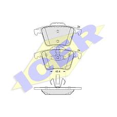 ICER 181612 (274512 / 2745280 / 2743300) колодки дисковые задние \ Volvo (Вольво) xc90 2.5it / 3.0i t6 / 2.4 d5 02>