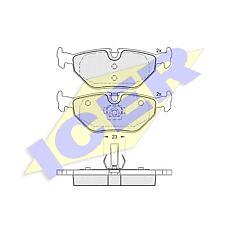 ICER 181707 (34211164501 / 34216761241 / 34216761239) колодки дисковые задние \ BMW (БМВ) e46 1.6i-2.8i / d 98>,rover 75 1.8-2.5 / cdt 99>