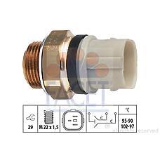 FACET 7.5652 (1H0959481B / 7215818 / 1H0959481C) Датчик включения вентилятора