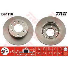 TRW DF1118 (93500520 / 7568440 / 7531819) диск тормозной не вент. Fiat (Фиат) Ducato (Дукато) / / c25 / j5   424693