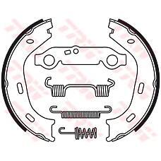 TRW GS8218 (1264200120 / 1234200120 / 1204201520) колодки торм стоян. Mercedes (Мерседес) w123