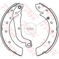TRW GS8622 (440600F026 / 1960416 / 440609C025) колодки торм зад бараб Ford (Форд) Maverick (Маверик) / nissan